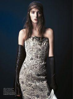 USA Fashion | Music News: Josephine Le Tutour by Steven Pan for Flair Decemb...