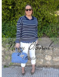 Los looks de mi armario: Navy en Otoño · Look Curvy