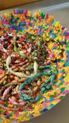 My 1st perler bead bowl