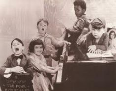 """""""The Little Rascals"""" - Great early TV shown from the 1950's. Spanky, Alfalfa, Dorla, Stymie, Buckwheat, """"Froggy"""" and Petey the dog were the regulars."""
