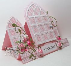 Stamps - Our Daily Bread Designs Cathedral Window - Marble, Mini Tags 1, ODBD Custom Cathedral Window and Border Dies