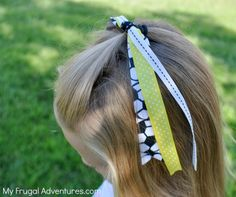 How to Make Hair Bows for Girls