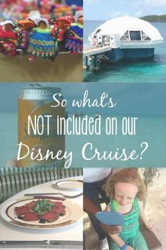 So... what's NOT included on your Disney Cruise? • Delightful Life