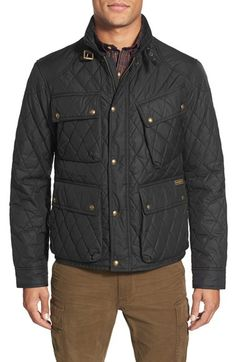 Polo Ralph Lauren Quilted Biker Jacket available at #Nordstrom