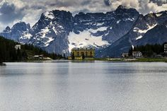 Grand Hotel, Lake Misurina, Dolomite Alps, Italy | Flickr - Photo Sharing!