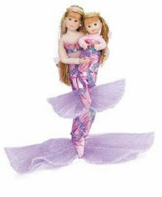 Big Sister - Li'l Sister Mermaid Dolls by Only Hearts Club. $25.94. Ages 3 and up.. Includes both dolls in Pink/Purple Mermaid Outfits. Mermaid Lily Rose teaches her little sister Jessica how to be a marvelous mermaid. Now girls can combine two of their favorite play patterns - exciting fantasy princess play and big sister/little sister friendship and love! A little sister is always looking up to her big sister...watching, learning and imitating, so a big sist...