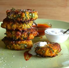 Sweet Potatoes & Quinoa Fritters