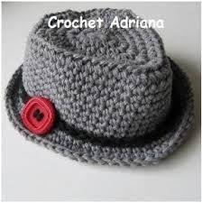 Resultado de imagen de sombrero de crochet