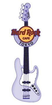 Hard Rock Cafe Japan | Fender Spray Guitar Pin