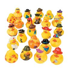 Mega Rubber Ducky Assortment - OrientalTrading.com 42.00 pr 100