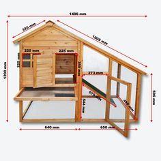 Building a Chicken Coop poulailler clapier 525 pour 1 a 3 poules ou rongeurs ou autre en èpicèa Building a chicken coop does not have to be tricky nor does it have to set you back a ton of scratch. Chicken Barn, Diy Chicken Coop Plans, Chicken Coup, Chicken Life, Chicken Coop Designs, Building A Chicken Coop, Backyard Poultry, Backyard Chicken Coops, Chickens Backyard