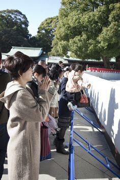 Santuario Meji en Yoyogi Park. Tokio
