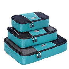 Organize clothing and accessories inside your travel bag with a single packing cube or a packing cube set from eBags. Shop now to find packing cubes for your next trip. Ebags Packing Cubes, Best Packing Cubes, Packing Tips, Travel Packing, Travel Tips, Travel Essentials, Travel Ideas, Travel Hacks, Travel Attire