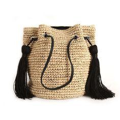 2018 Famous Design Magic Summer Beach Bag Women Ladies Shopping Bag Fashion Straw Bags Tassel Shoulder Bag Bolsas. Yesterday's price: US $76.00 (62.91 EUR). Today's price: US $22.80 (18.87 EUR). Discount: 70%.