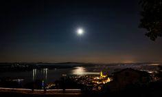 #Arona, la luna e la magia ( #Novara #Piedmont #Italy )