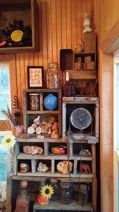 Wooden Boxes & Crates for Shelving - All