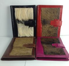 Visit www.yearsoflove.com to discover more unique 3rd anniversary gift ideas like this Goat Leather Document Portfolio with Fur Accent