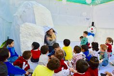 A day in Igloo-Winter Camp-Day 2 White Fields British Nursery -An innovative learning experience...