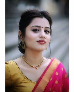 Beautiful Girl Indian, Most Beautiful Indian Actress, Beautiful Saree, Beautiful Women, Indian Hair Cuts, Indian Bridal Fashion, Indian Models, Queen, Indian Beauty Saree