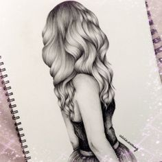 wish i could draw hair like this