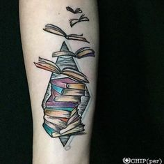 40+ Amazing Book Tattoos for Literary Lovers - TattooBlend