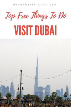 How about exploring Dubai on a budget? Check out many top free things to do in Dubai along with money saving tips and special deals during your trip. Dubai Places To Visit, Dubai Things To Do, Cheap Things To Do, Visit Dubai, Free Things To Do, Dubai Travel, Asia Travel, Travel Usa, Eastern Travel