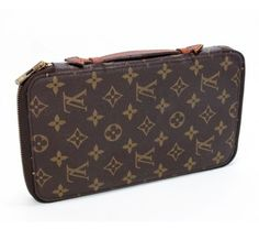 Louis Vuitton Vintage Monogram Poche Escapade/Passport Travel Organizer #bags #fashion