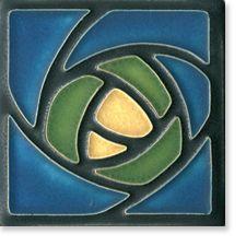 Dard Hunter Rose by Motawi Tile