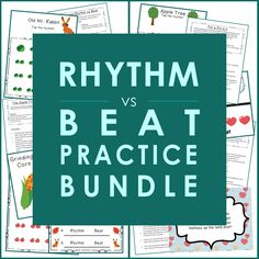 Rhythm vs Beat Practice Bundle
