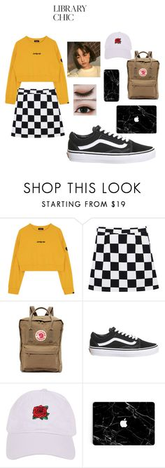 """Untitled #29"" by alexiavue on Polyvore featuring Fjällräven, Topshop and Armitage Avenue"