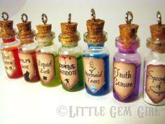 Magic Glass Bottle Cork by LittleGemGirl