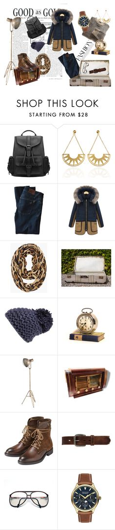 """Casual winter"" by bouts-darts-vintage on Polyvore featuring mode, DL1961 Premium Denim, Chico's, BCBGeneration, GANT, Bed