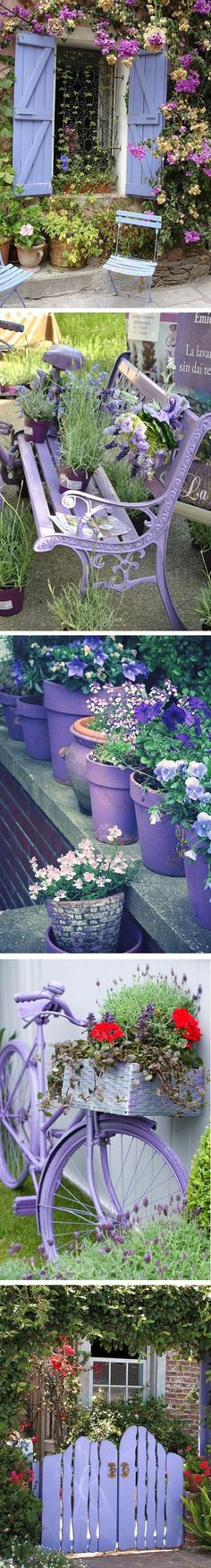Love Lavender Accents in the Garden