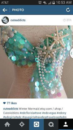 Best most unique mermaid bra