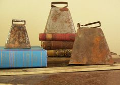 I have always wanted some real cowbells. Some that are beaten and battered and have actually spent time with a cow.
