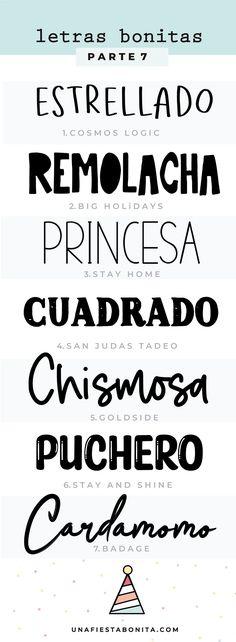 tipos de letras para usar en invitaciones Thing 1, I Shop, Boards, Typography, Thankful, Printables, Messages, Feelings, School