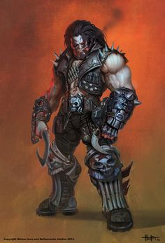 Lobo Fan Art by Hunter Schulz — GeekTyrant