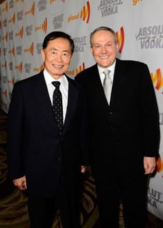 George Takei with his husband Brad Altman, one of the most loving supportive awesome couples