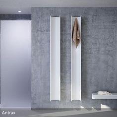 Die Design-Heizkörper von Antrax können gleichzeitig als Handtuchhalter genutzt werden.