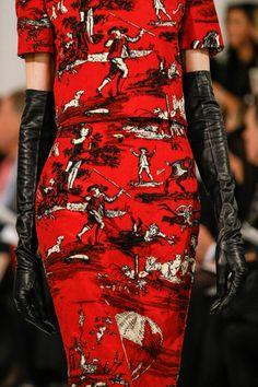 """yourmothershouldknow: """" Oscar de la Renta Otoño/Invierno 2013 Semana de la Moda de Nueva York ….. Oscar de la Renta Autumn/Winter 2013 New York Fashion Week """""""