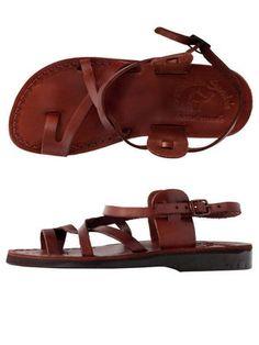 Jerusalem Sandal with Straps $60