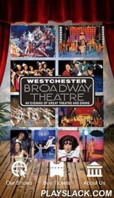 Westchester Broadway Theatre  Android App - playslack.com ,  Keep on top of all the exciting Broadway musicals, concerts and special entertainment events coming to the Westchester Broadway Theatre - New York's Best Theatre and Dining Experience - located in Elmsford, NY.Enjoy an intimate night out with a delicious served dinner, dessert and a show, all for one low price. The Westchester Broadway Theatre is the area's premier night out and the longest running, year-round Equity Theatre in the…