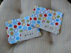 Bright Dots Mini Snack Bag by MamaandNonni on Etsy, $3.00