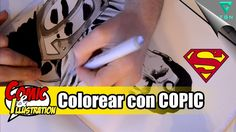 COMO EMPEZAR A DIBUJAR COMICS | 23ª clase | Colorear con COPIC