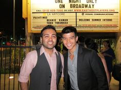 Telly Leung, one of the Warblers from Glee.