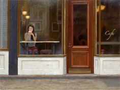 Coffee in a Cafe Window - Paul Schulenburg