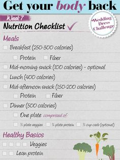 Get Your Body Back - Weekly Diet & Fitness Plans - Redbook