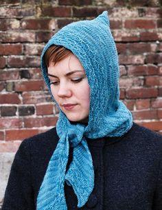 Roisin hooded scarf