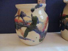 NC Art Pottery SMALL PITCHER & POT John Garrou Old Fort Stoneware | eBay