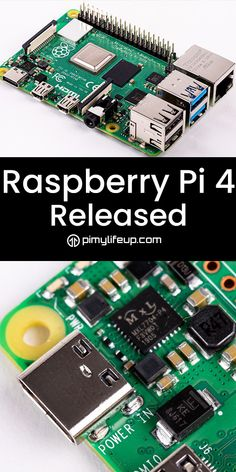 Raspberry Pi 4 has been released!